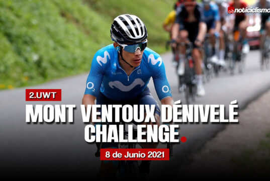 Mont Ventoux Dénivelé Challenge 2021 – Recorrido y Perfil
