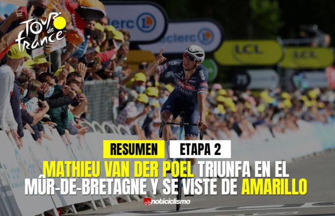 Tour de Francia 2021 (Etapa 2) Resumen y Último Kilómetro