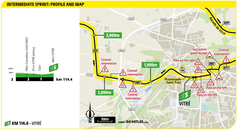 Tour de Francia 2021 - Etapa 4 - Sprint Intermedio