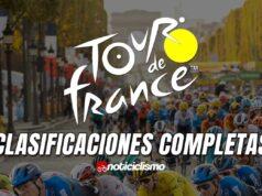 Tour de Francia - Clasificaciones Completas