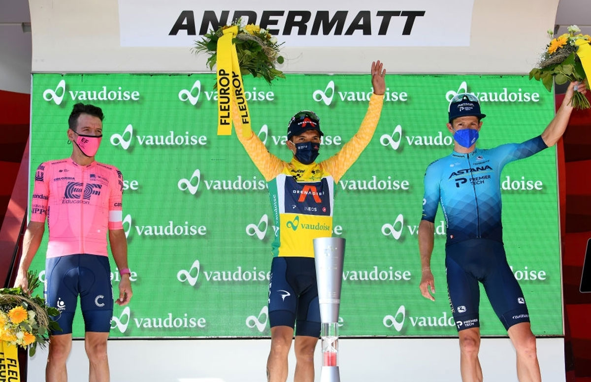 Tour de Suiza 2021 - Pódium Final