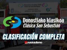 Clásica de San Sebastián – Clasificación Completa