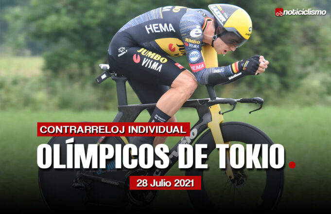 Olímpicos de Tokio 2020: Recorrido y Perfil de la Contrarreloj Individual