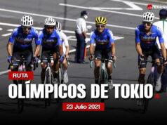 Olímpicos de Tokio 2020: Recorrido y Perfil de la Prueba de Ruta
