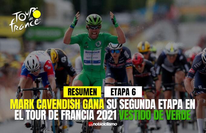 Tour de Francia 2021 (Etapa 6) Resumen y Último Kilómetro