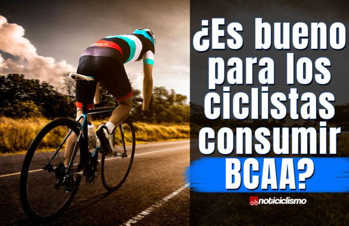 ¿Es bueno para los ciclistas consumir BCAA?
