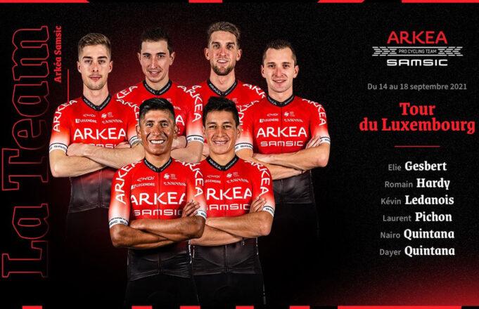 Alineación del Arkea-Samsic en el Tour de Luxemburgo 2021