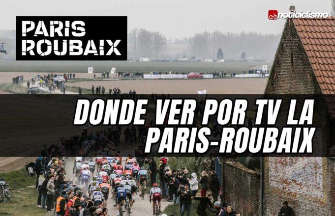 Donde ver por TV la Paris-Roubaix