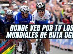 Donde ver por TV los Campeonatos Mundiales de Ruta UCI