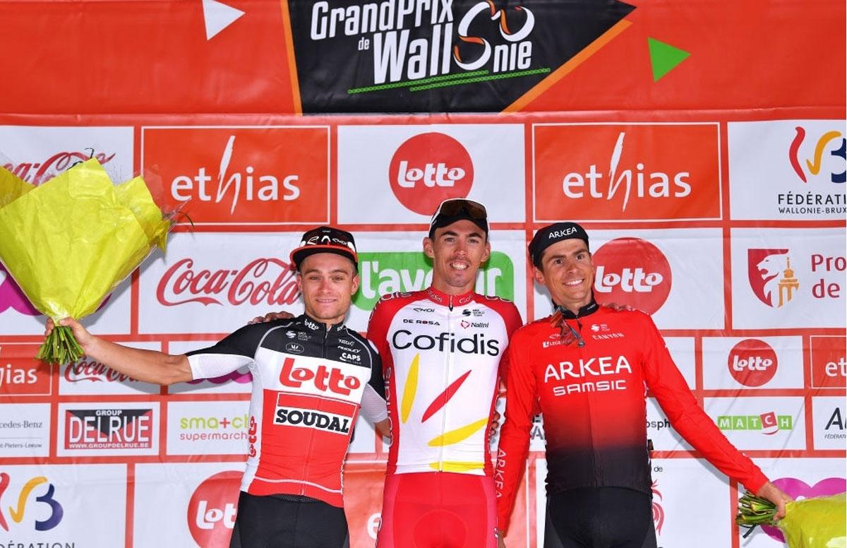 Grand Prix de Wallonie 2021 - Pódium