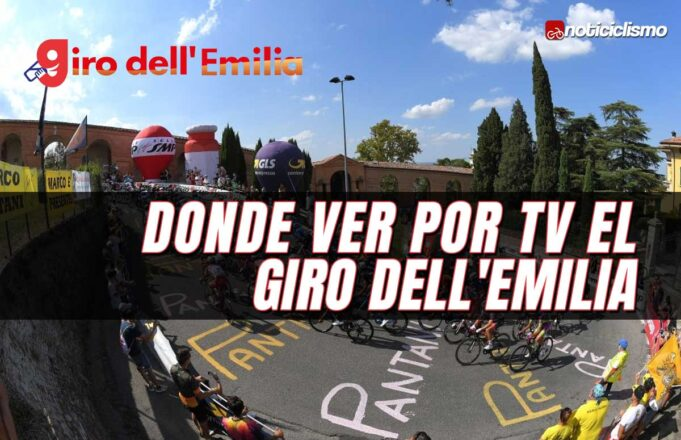 Donde ver por TV el Giro dell'Emilia