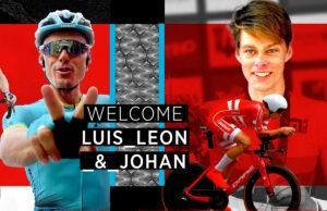 Luis León Sánchez y Johan Price-Pejtersen